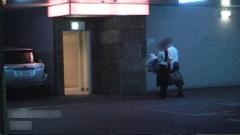 ホテルに入る習慣の証拠写真