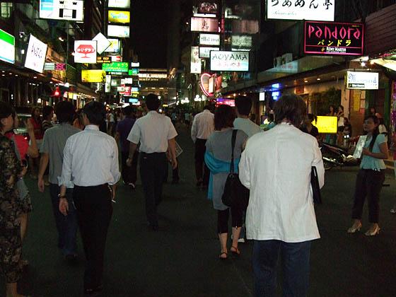 タイ・バンコクには日本語が通じるお店がたくさんあります